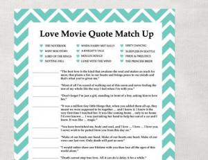 Bridal, Quotes Matchups, Matchups Instant, Movie Quotes, Bridal Shower ...