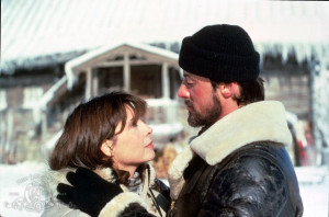 Still of Sylvester Stallone and Talia Shire in Rocky IV (1985)