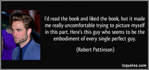 More Robert Pattinson Quotes