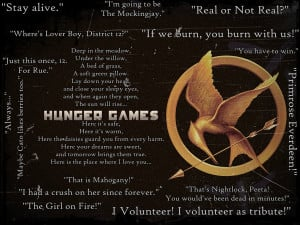 The Hunger Games Quotes by Mockingjay-Rue on deviantART