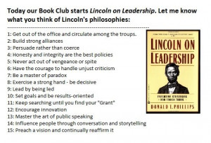 Quotes from Lincoln on Leadership