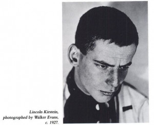 Lincoln Kirstein at twenty-two and Edward M.M. Warburg at eighteen ...