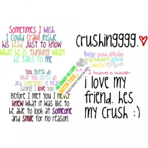 Quotes About Having Crush Boy