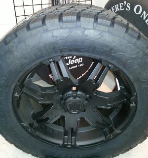 wheels Nitto Terra Grappler Tires 305/55/R20.