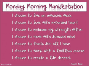 Welcome to a brand new week my friends! Let's start today was some ...