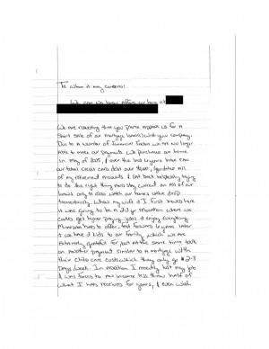sample hardship letter due to job relocation short sale hardship letter samples washington. Black Bedroom Furniture Sets. Home Design Ideas