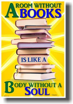 Room Without Books Is Like a Body Without a Soul - Cicero More