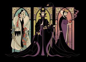 Threadless: Disney Villains Tees