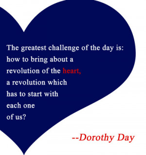dorothy day quote
