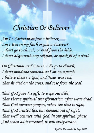 Christian Or Believer