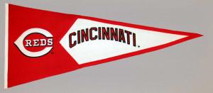 Cincinnati Reds Large Pennant