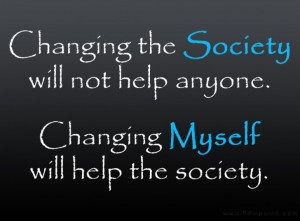 ... High Definition Changing The Society And Changing Myself Background