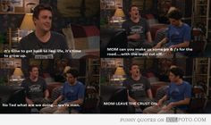 Time to grow up - Funny quotes from How I Met Your Mother with ...