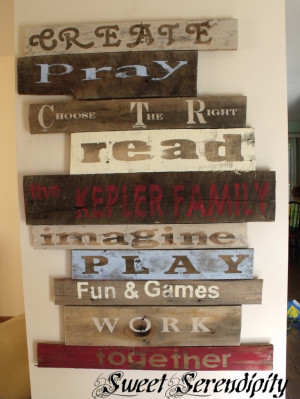 20 Cool DIY Pallet Art Projects » Photo 11