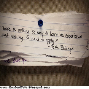 experience quotes experience quotes experience quotes experience ...