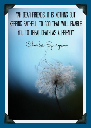 Charles Spurgeon quote from sermon 2285...More at http://beliefpics ...
