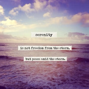 Peace And Serenity Quotes