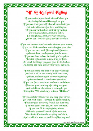 if by rudyard kipling printable