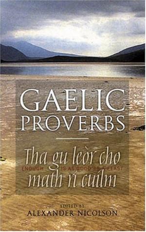 Gaelic Proverb Quotes