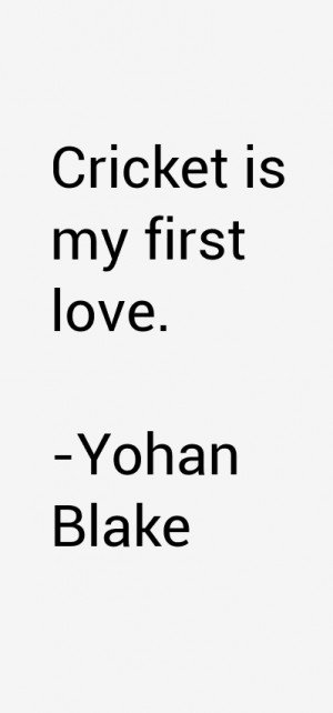 Yohan Blake Quotes & Sayings