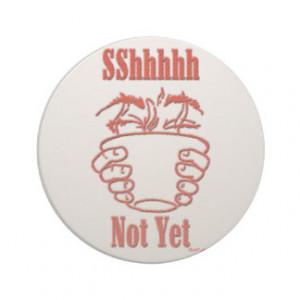 Funny Coffee Drinker's Sandstone Coaster