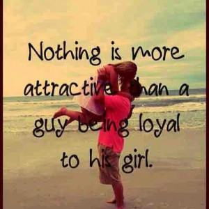 ... than a guy being loyal to his girl. See http://v24k.com/love-messages