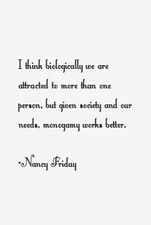 Nancy Friday Quotes & Sayings