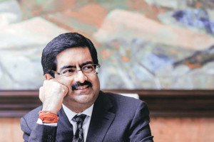 Kumar Mangalam Birla clearly loves shopping but perhaps more for