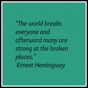 My Son Is My Everything Quotes Hemingway quote