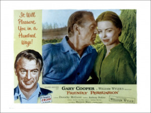 Friendly Persuasion Gary Cooper Dorothy McGuire 1956