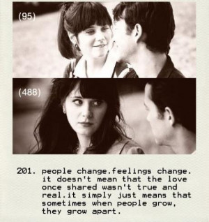People Change,Feeling Change ~ Emotion Quote