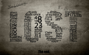 Lost Quotes HD Wallpaper