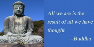 Positive Buddha - picture quote