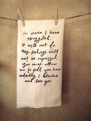... old-fashioned, pride and prejudice, proposal, romantic, towel, vintage