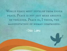 world #peace #quotes inspir quot, world peace quotes, peac quot, yoga ...