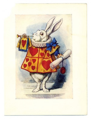Alice in Wonderland—Timeless as the White Rabbit's Watch