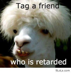 Tag a friend who is retarded - Funny Pictures, Funny Quotes, Funny ...