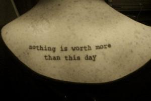 tattoo-masbeq: Tattoo Quotes On Life