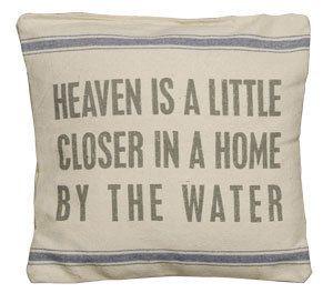 love this pillow would be perfect now living by the lake