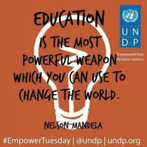 Mandela on Education