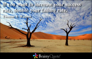 Double Your Failure Rate.