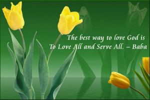 Christian Quote: Love God Papel de Parede Imagem