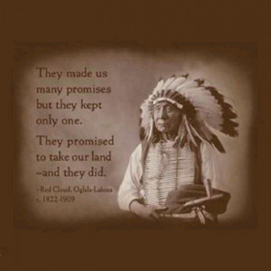 Wise old Native saying
