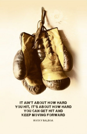 Rocky balboa, quotes, sayings, keep moving forward, famous