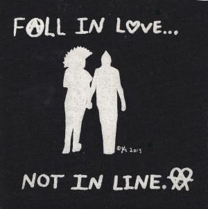 Punk Rock Love Diy punk rock love peace