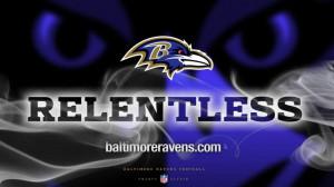 Quote the Ravens.....