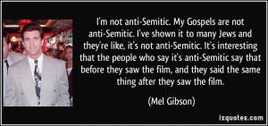 More Mel Gibson Quotes