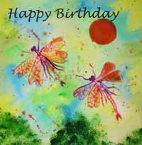 Happy Birthday Dragonflies