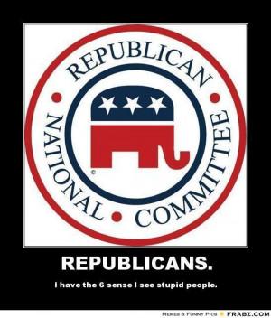 Stupid Republicans Meme