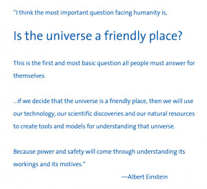 Einstein's and Taylor' words pointed us to the heart of the matter ...